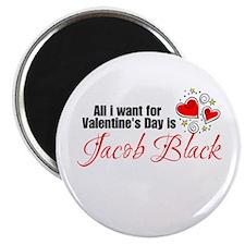 Valentines Day Jacob Magnet