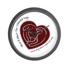 Have A Heart 3 Wall Clock