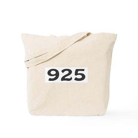 925 Area Code Tote Bag