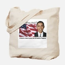 Inauguration Quote Tote Bag