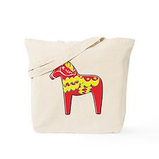 Pretty Dala Horse Tote Bag