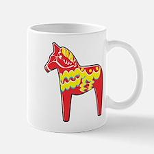 Pretty Dala Horse Mug