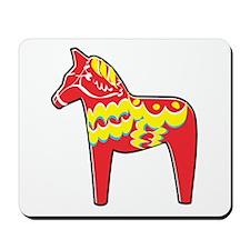 Pretty Dala Horse Mousepad