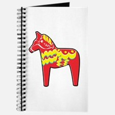 Pretty Dala Horse Journal