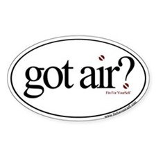 Got Air? Oval Decal
