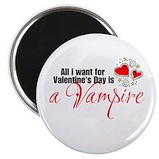 Valentines Day Vampire Magnet