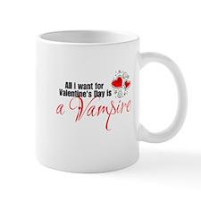 Valentines Day Vampire Mug