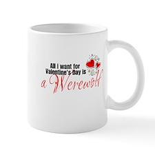 Valentines Day Werewolf Mug
