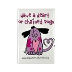 Have A Heart 2 Rectangle Magnet (100 pack)