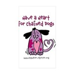 Have A Heart 2 Rectangle Sticker 10 pk)
