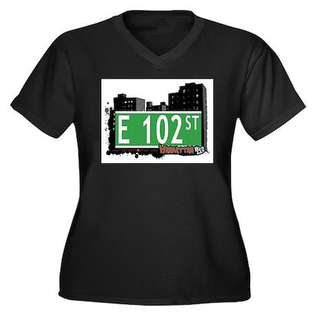 E 102 STREET, MANHATTAN, NYC Women's Plus Size V-N