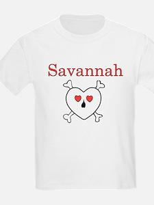 Savannah - Love Pirate T-Shirt