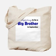 """Expecting"" Big Brother Septe Tote Bag"