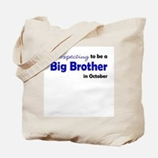 """Expecting"" Big Brother Octob Tote Bag"