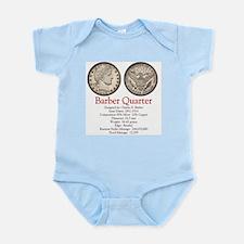 Barber Quarter Infant Bodysuit