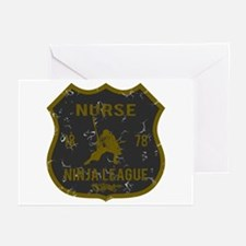 Nurse Ninja League Greeting Cards (Pk of 10)