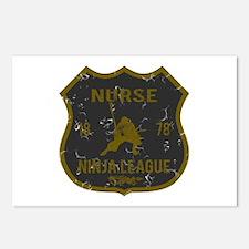 Nurse Ninja League Postcards (Package of 8)