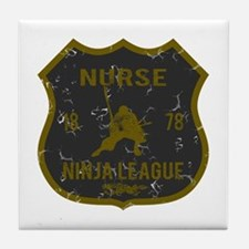 Nurse Ninja League Tile Coaster