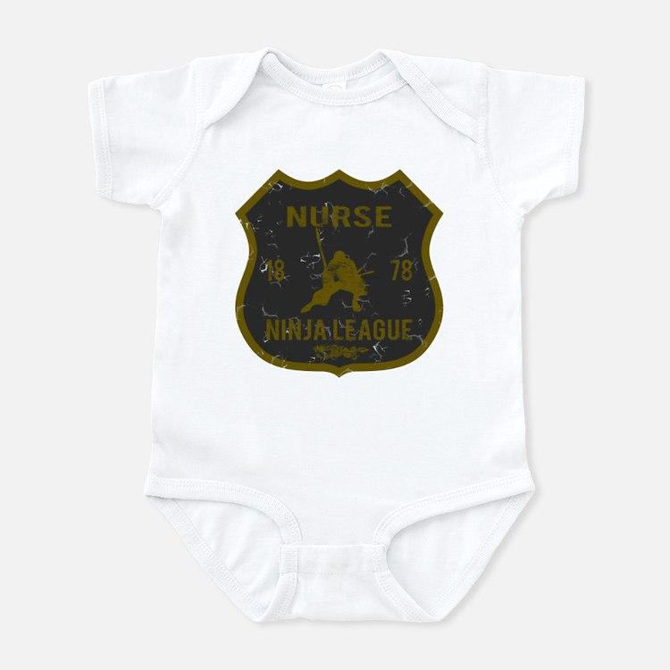 Nurse Ninja League Infant Bodysuit