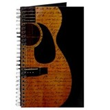 Guitar Journals & Spiral Notebooks