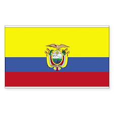 Ecuador Rectangle Decal