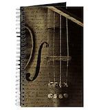 Violin Journals & Spiral Notebooks