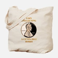 Lincoln Cent Tote Bag