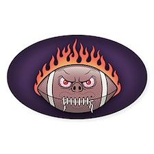 Piggy Flameskin Oval Decal