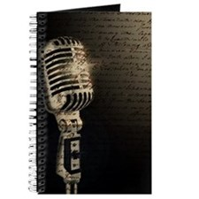 Microphone Notes Journal