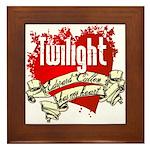 Edward Cullen Tattoo Framed Tile