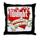 Edward Cullen Tattoo Throw Pillow