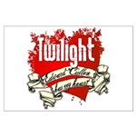 Edward Cullen Tattoo Large Poster