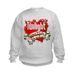 Edward Cullen Tattoo Kids Sweatshirt