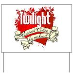 Edward Cullen Tattoo Yard Sign