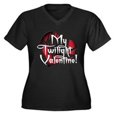 My Twilight Valentine Women's Plus Size V-Neck Dar