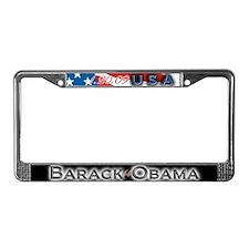 Barack Obama - License Plate Frame