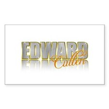 Sparkly Edward Rectangle Decal