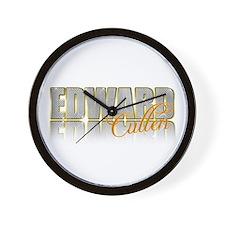 Sparkly Edward Wall Clock