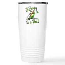 Peas in a Pod! Travel Mug
