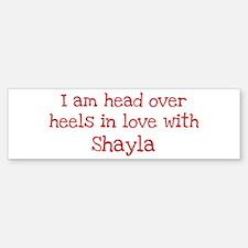In Love with Shayla Bumper Bumper Bumper Sticker