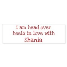 In Love with Shania Bumper Bumper Sticker