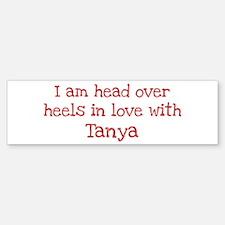 In Love with Tanya Bumper Bumper Bumper Sticker