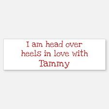 In Love with Tammy Bumper Car Car Sticker