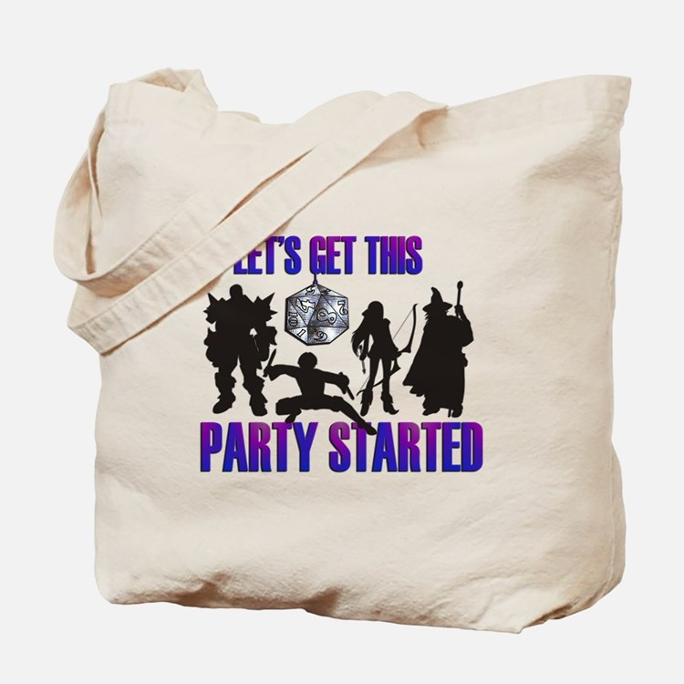 Party Started Tote Bag