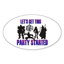 Party Started Decal