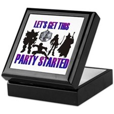 Party Started Keepsake Box