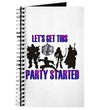 Party Started Journal