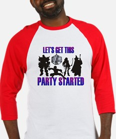 Party Started Baseball Jersey