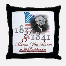 8th President - Throw Pillow