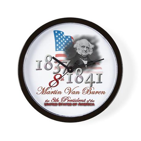 8th President - Wall Clock